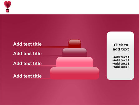 Fuchsia Heart PowerPoint Template Slide 8