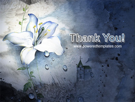 White Lily PowerPoint Template Slide 20