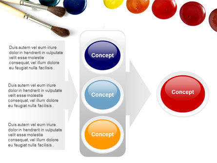 Watercolor PowerPoint Template Slide 11