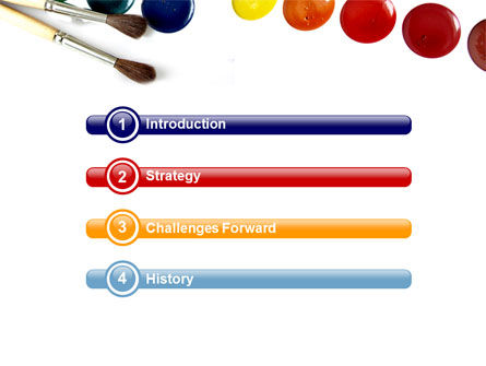 Watercolor PowerPoint Template, Slide 3, 05919, Careers/Industry — PoweredTemplate.com