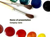 Careers/Industry: Waterverf PowerPoint Template #05919