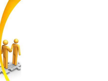 Handshaking PowerPoint Template, Slide 3, 05920, Business Concepts — PoweredTemplate.com