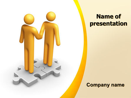 Handshaking PowerPoint Template