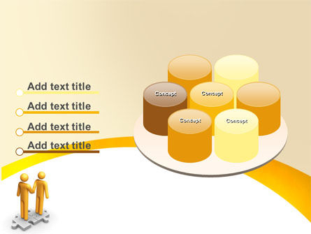 Handshaking PowerPoint Template Slide 12