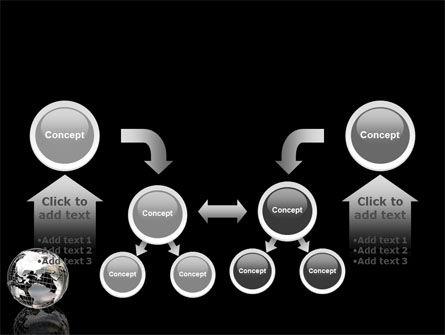 Silver Globe PowerPoint Template Slide 19