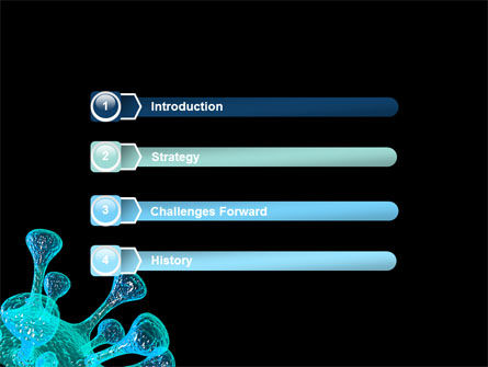 Microbe PowerPoint Template, Slide 3, 05923, Medical — PoweredTemplate.com