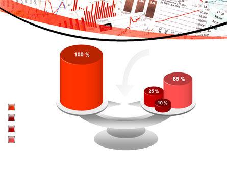 Stock Market Histograms PowerPoint Template Slide 10