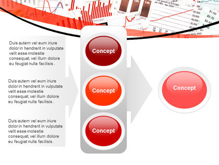 Stock Market Histograms PowerPoint Template Slide 11