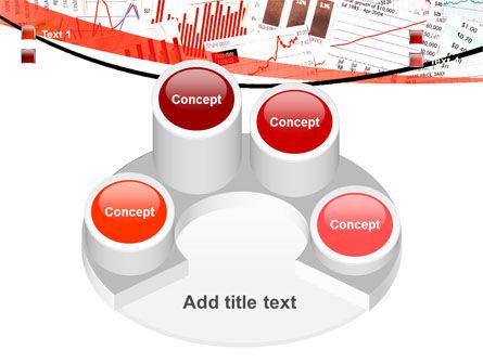 Stock Market Histograms PowerPoint Template Slide 12