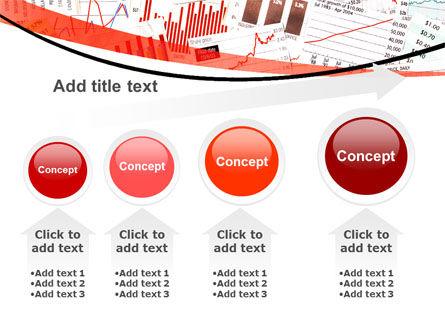 Stock Market Histograms PowerPoint Template Slide 13
