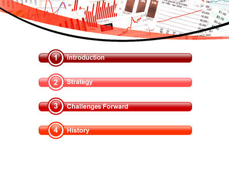 Stock Market Histograms PowerPoint Template, Slide 3, 05924, Financial/Accounting — PoweredTemplate.com