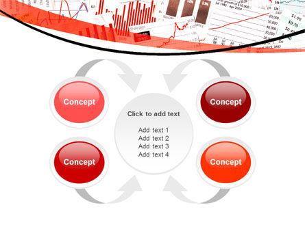 Stock Market Histograms PowerPoint Template Slide 6