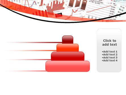 Stock Market Histograms PowerPoint Template Slide 8