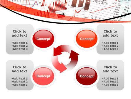 Stock Market Histograms PowerPoint Template Slide 9