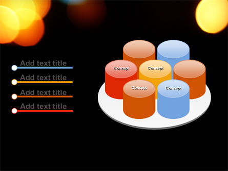 Lights Of Bokeh PowerPoint Template Slide 12