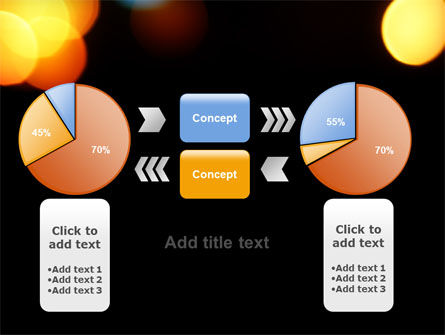 Lights Of Bokeh PowerPoint Template Slide 16
