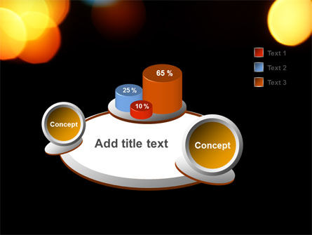 Lights Of Bokeh PowerPoint Template Slide 6