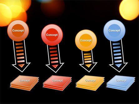 Lights Of Bokeh PowerPoint Template Slide 8