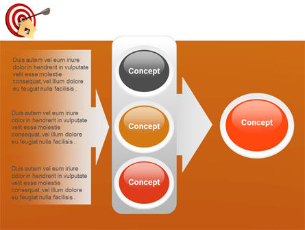 House Target PowerPoint Template Slide 11