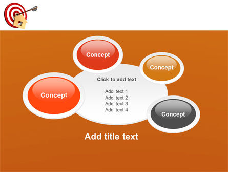 House Target PowerPoint Template Slide 16