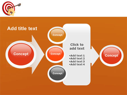 House Target PowerPoint Template Slide 17