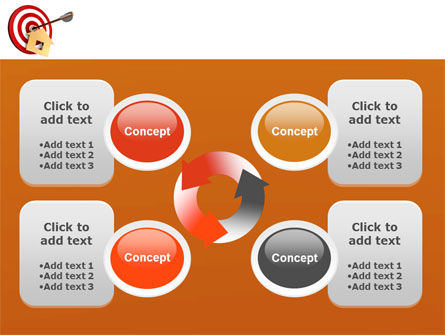 House Target PowerPoint Template Slide 9