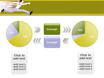 Rushing Man Free PowerPoint Template Slide 11