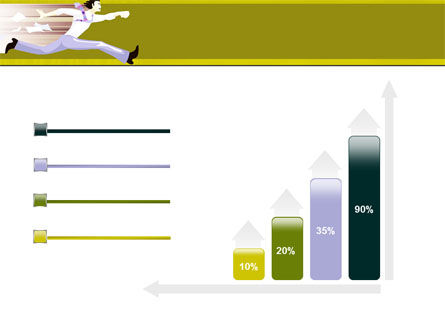 Rushing Man Free PowerPoint Template Slide 8