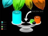 Seven Color Flower PowerPoint Template#10
