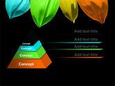 Seven Color Flower PowerPoint Template#12