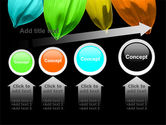 Seven Color Flower PowerPoint Template#13