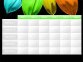 Seven Color Flower PowerPoint Template#15