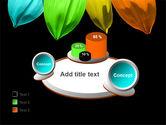 Seven Color Flower PowerPoint Template#16