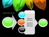 Seven Color Flower PowerPoint Template#17