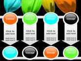 Seven Color Flower PowerPoint Template#18