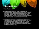 Seven Color Flower PowerPoint Template#2