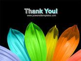 Seven Color Flower PowerPoint Template#20