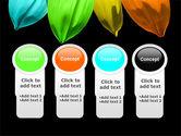 Seven Color Flower PowerPoint Template#5