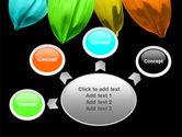 Seven Color Flower PowerPoint Template#7