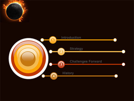 Solar eclipse powerpoint template backgrounds 05932 for Eclipse html template