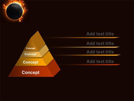 Solar Eclipse PowerPoint Template, Slide 4, 05932, Nature & Environment — PoweredTemplate.com