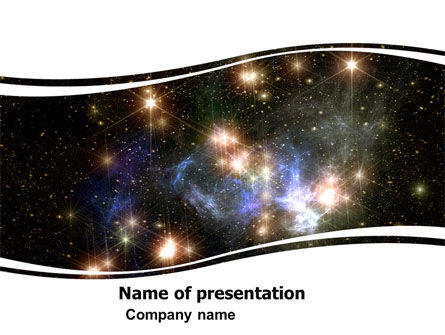 Technology and Science: Universe PowerPoint Template #05933