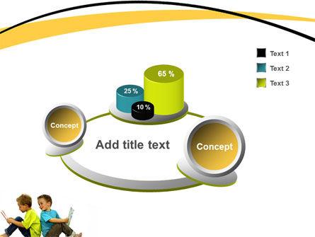 Boys PowerPoint Template Slide 6