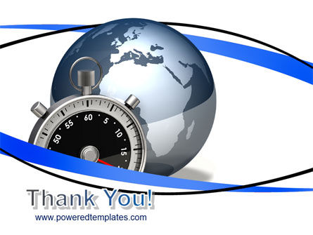 World On Time PowerPoint Template Slide 20