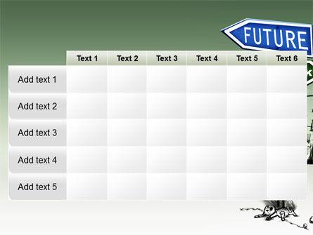 Future Ahead PowerPoint Template Slide 15