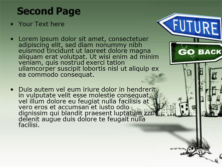 Future Ahead PowerPoint Template Slide 2