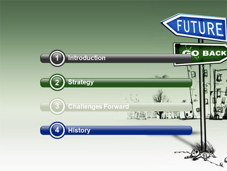 Future Ahead PowerPoint Template Slide 3