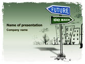 Consulting: Future Ahead PowerPoint Template #05943