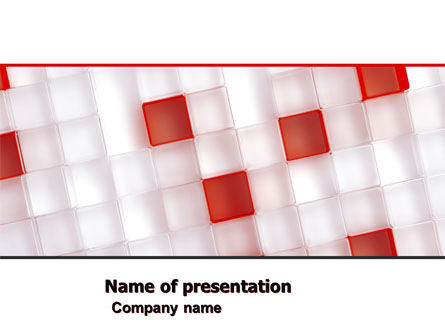 Red And White PowerPoint Template