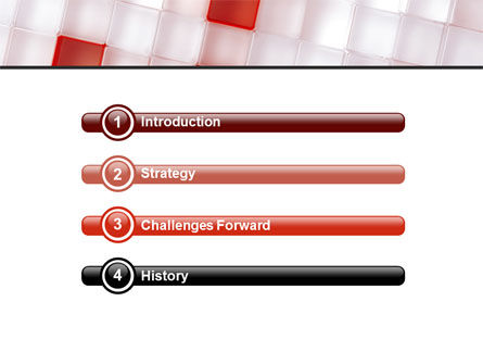 Red And White PowerPoint Template Slide 3